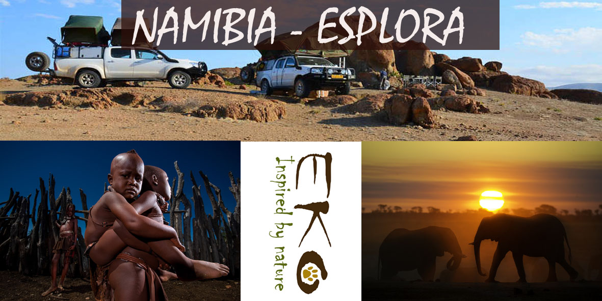 NAMIBIA IN LIBERTA – 4X4 CAMPING CAR