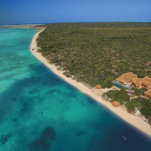 Azura - Private Villa from air small